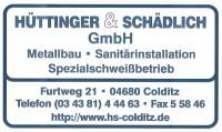 Hüttinger und Schädlich GmbH